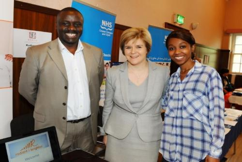 Gallery-Mariam-and-Micheal-meet-First-Minister-Nicola-Sturgeon-2013